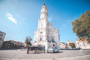 Pareigūnai įsiamžino gražiausiose Kauno vietose