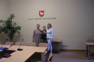 Kaune viešėję islandai dalinosi patirtimi socialinių paslaugų srityje