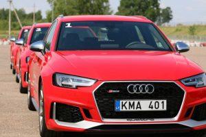 "Pristatyta unikali ""Audi Sport"" vairavimo akademija"