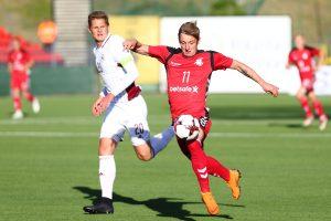 Baltijos taurės finiše – Lietuvos ir Latvijos futbolininkų lygiosios