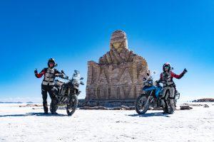 Motociklais aplink pasaulį: netikėtos patirtys Šiaurės Amerikoje