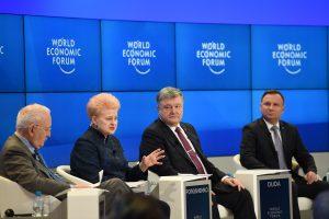 D. Grybauskaitė Davose: Europa sugrįžta