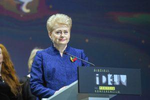 Iš ilgo sąrašo atrinktos trys svarbiausios idėjos Lietuvai