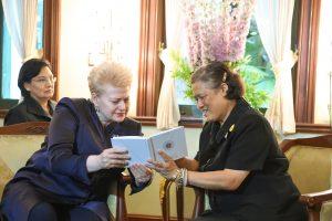 D. Grybauskaitė: ryšiai su Tailandu atveria plačias galimybes
