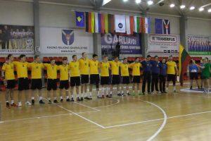 Lietuvos 20-mečių vaikinų rankinio rinktinė pralaimėjo Rusijai