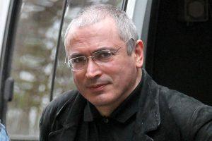 Rusija kreipėsi į Interpolą, skelbdama tarptautinę M. Chodorkovskio paiešką