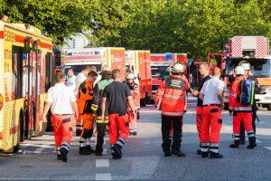 Hamburge kilo gaisras buvusioje priešlėktuvinėje slėptuvėje