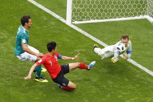 Sensacija: vokiečiai liko už planetos futbolo pirmenybių aštuntfinalio borto