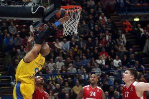 """A. Gudaitis pelnė 18 taškų, bet Milano klubas nusileido """"Maccabi"""" ekipai"""