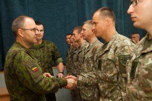 Lietuvos kariai išlydimi į misijas Afganistane ir Irake