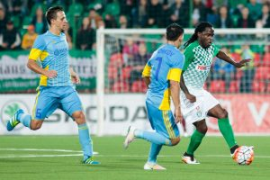 """Vilniaus """"Žalgiris"""" kovas UEFA Čempionų lygoje pradėjo lygiosiomis"""