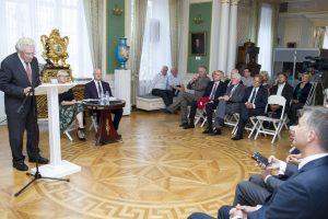 Trims laureatams – apdovanojimai už Lietuvos-Lenkijos santykių stiprinimą