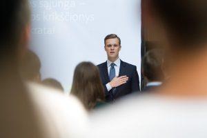 G. Landsbergis: darbai turi būti padaryti, tai – mūsų pažadas