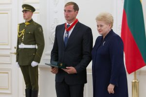 Prezidentė: sportininkų pergalės įkvepia visą Lietuvą