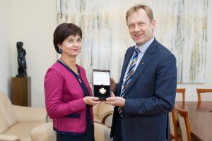 Kultūros ministerijos apdovanojimas – žurnalistei J. Kryževičienei