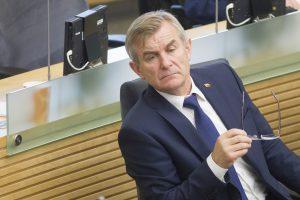Seimo pirmininkas į Konstitucinį Teismą siūlo skirti teisėją G. Godą