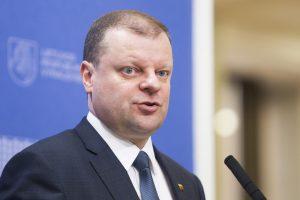 Premjeras neatsisako planų kurti Vyriausybės teisės centrą