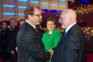 V. Uspaskichas: partijos vadovas turi būti pirmas