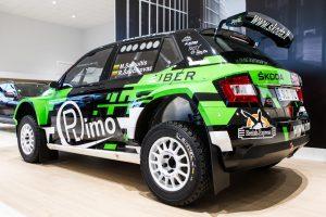 Pristatytas Lietuvoje dar nematytas ralio automobilis