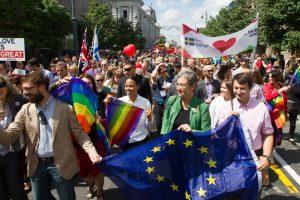 """""""Baltic Pride 2016"""" eitynėse Vilniuje – rekordinis dalyvių skaičius"""