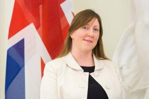 Ambasadorė: Britanija dėkinga Lietuvai už solidarumą