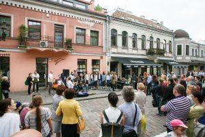 Laisvės alėja ir Vilniaus gatvė skęsta muzikoje