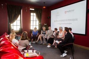 Akcija kviečia jaunus žmones susimąstyti apie savo senatvę