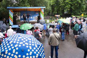Lietuvos zoologijos sodas gimtadienį atšventė pliaupiant lietui