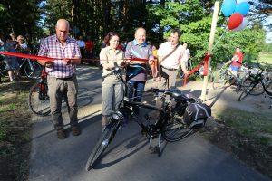 Vaišvydavą su Girionimis sujungė dviračių takas