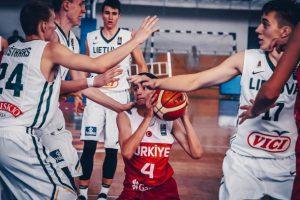 Lietuvos 16-mečiai krepšininkai Europos čempionate liko šešti