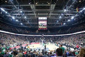 """Žalgirio"" arena –antra lankomiausia Eurolygoje"