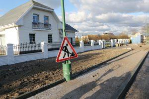 Į aistras dėl naujo asfalto įpainiota ir žinoma politikė