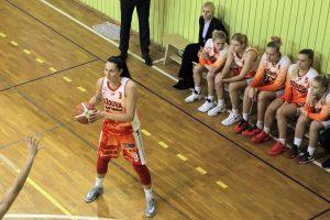 I. Šimkutė – viena naudingiausių Baltijos lygos mėnesio žaidėjų