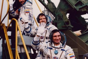 Kosmonautas A. Lazutkinas: pavojus manęs neišgąsdino