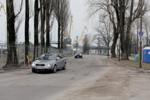 Į kitą vietą perkels Priešpilio gatvę