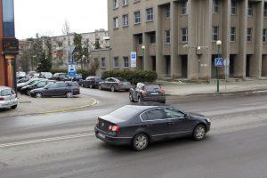 Uždraus sukti į kairę dar vienoje gatvėje