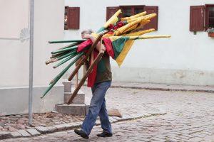 Dėl Lietuvos vėliavos – kivirčai