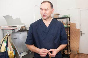 Krepšininkų ortopedas A. Černeckis: pėdos – žmogaus pasas