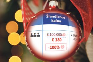 Už šventinę nakvynę pajūryje – 4 tūkst. eurų