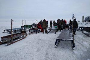 Žvejai siautėja: stintos kimba, ledas – saugus