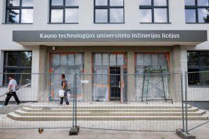 Kauno mokyklose – statybų įkarštis