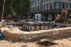 Kaip pasikeis Laisvės alėjos fontanas?