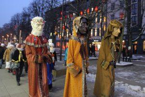 Trijų Karalių dovana kauniečiams – eitynės, koncertas ir ugnies šou