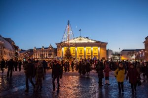 Kviečia į dar vieną Kalėdų eglės įžiebimą sostinės širdyje