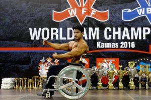 Pasaulio kultūristų čempionate žibėjo ir neįgalieji