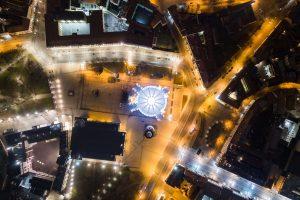 Per šventes į miesto centrą – viešuoju transportu ir naktiniais autobusais
