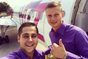 """""""Wizz Air"""" savo prekės ženklui ieško naujo veido Lietuvoje"""