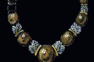 Tėvas ir sūnus Simanoniai pristato savo juvelyriką