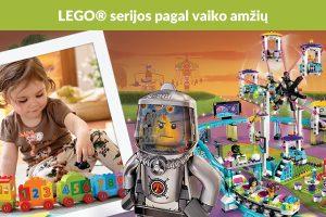 """Kaip išsirinkti """"LEGO"""" pagal vaiko amžių?"""