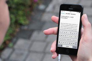 """Nuo šiol """"iPhone"""" ir """"iPad"""" savininkai galės džiaugtis lietuviška klaviatūra"""